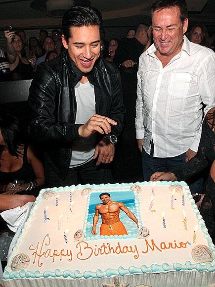 TAKE THE CAKE photo | Mario Lopez