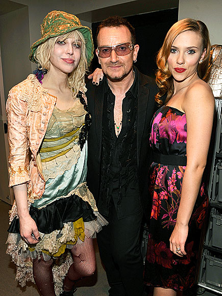 LIFE SAVERS photo | Bono, Courtney Love, Scarlett Johansson