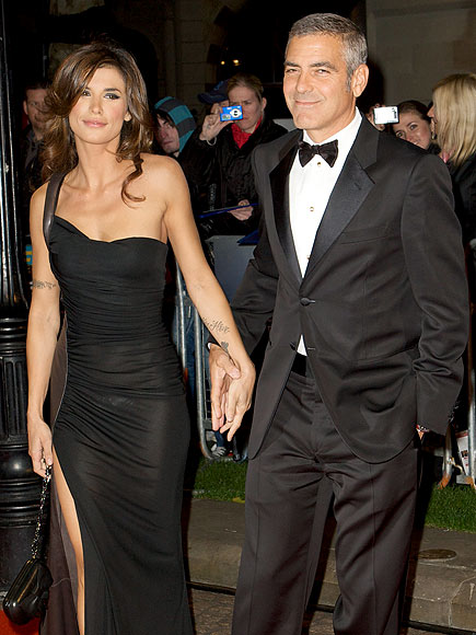 WHAT A 'FOX' photo | Elisabetta Canalis, George Clooney