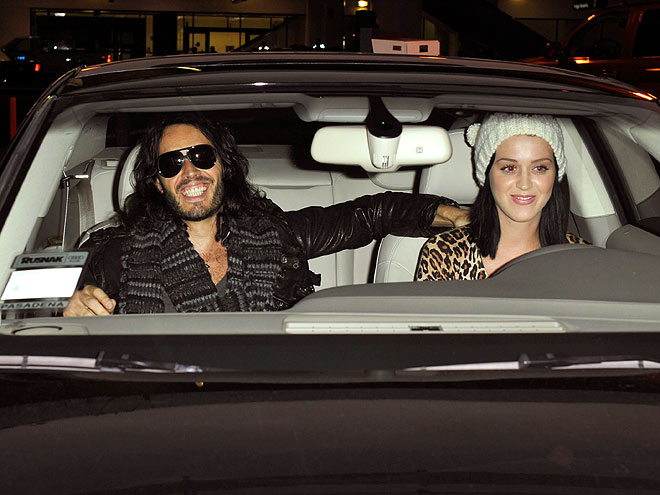 DRIVER'S SEAT photo | Katy Perry, Russell Brand