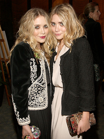 DOUBLE INDUCTEES photo | Ashley Olsen, Mary-Kate Olsen