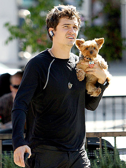 FURRY FRIEND photo | Orlando Bloom