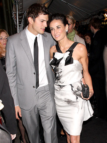 LADY & GENTLEMAN photo | Ashton Kutcher, Demi Moore