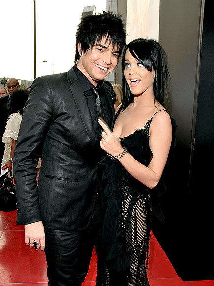 PERKY PAIR photo | Adam Lambert, Katy Perry