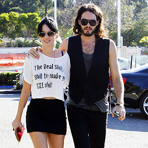 'DEEP' THOUGHTS photo | Katy Perry, Russell Brand