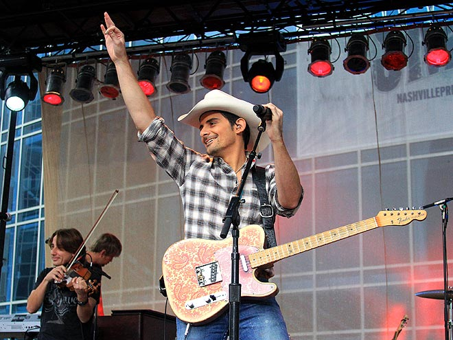 STRIKING A CHORD photo | Brad Paisley