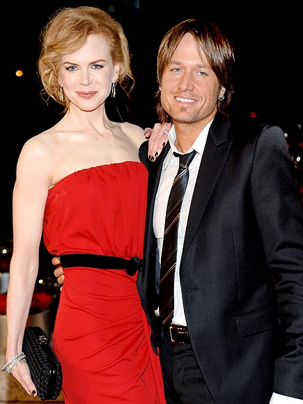 RED HOT photo | Keith Urban, Nicole Kidman