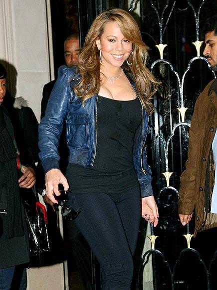 FEELING 'BLEU' photo | Mariah Carey