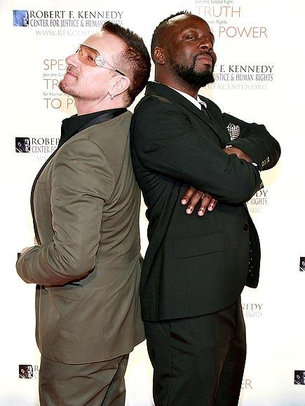 MEN OF HONOR photo | Bono, Wyclef Jean