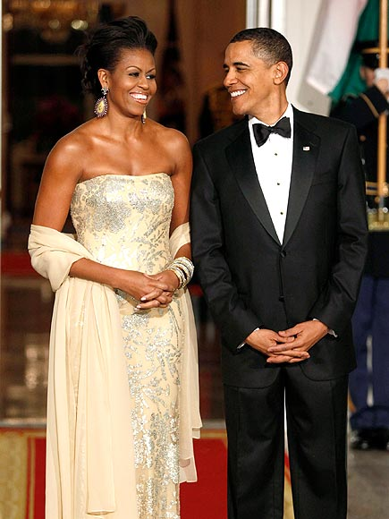 GOLDEN COUPLE photo | Barack Obama, Michelle Obama