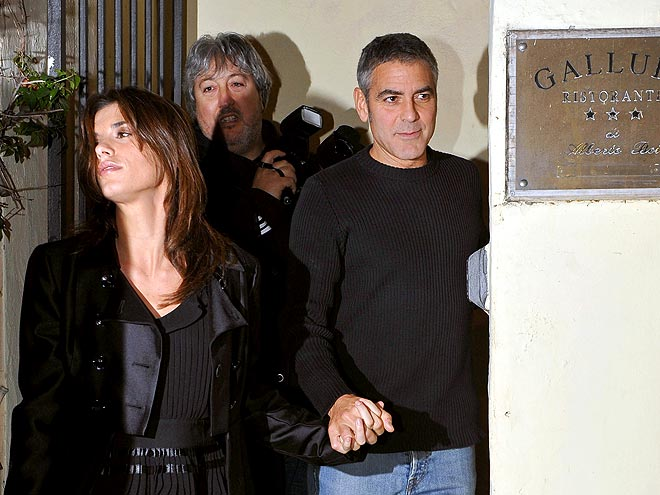 PARTING SHOT photo | Elisabetta Canalis, George Clooney