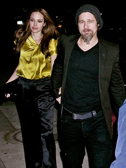 A SWEET PAIR photo | Angelina Jolie, Brad Pitt