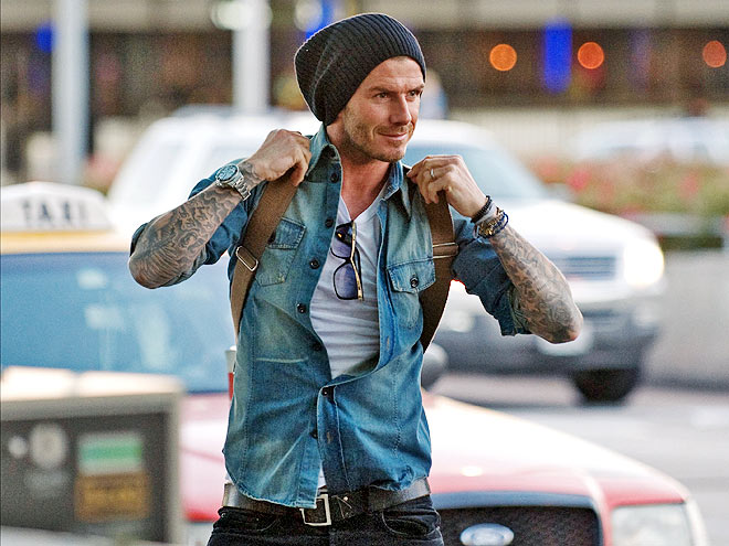 TRAVELING LIGHT photo | David Beckham