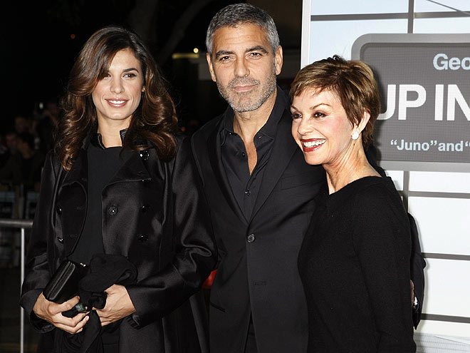 LADIES' MAN photo | Elisabetta Canalis, George Clooney
