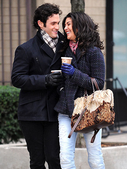 CUDDLE BUDDIES photo | Jessica Szohr, Penn Badgley