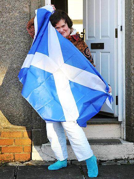 FLAG BEARER  photo | Susan Boyle