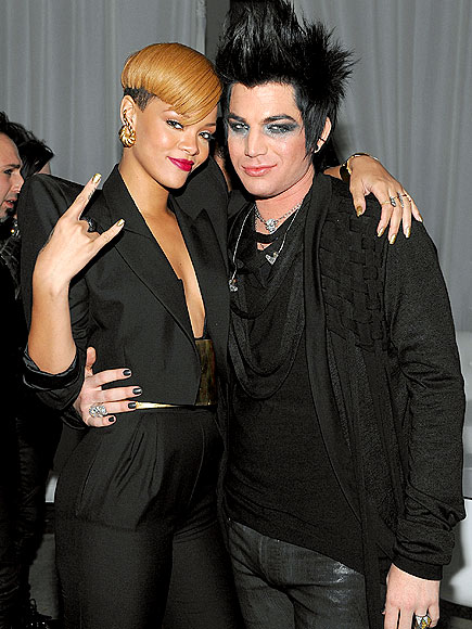 ALL THAT GLITTERS photo | Adam Lambert, Rihanna