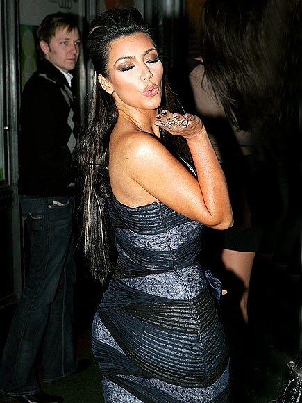 PUCKER UP! photo | Kim Kardashian