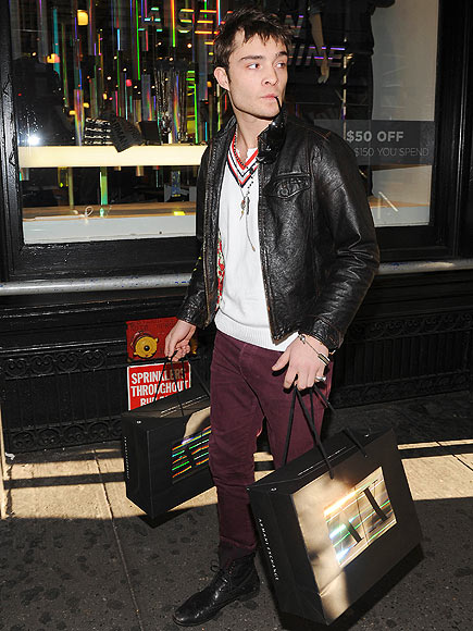 SIDEWAYS GLANCES photo | Ed Westwick