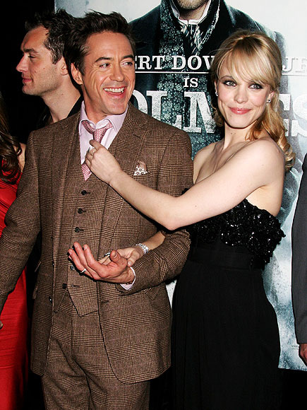 HOT OR KNOT photo | Rachel McAdams, Robert Downey Jr.