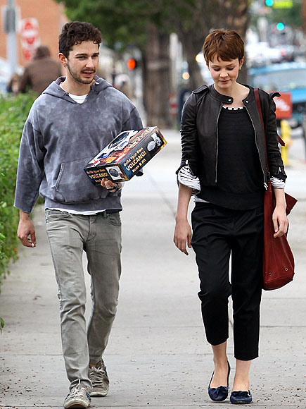 HEATING UP photo | Carey Mulligan, Shia LaBeouf