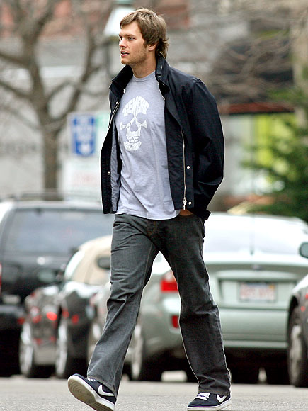 WALKING TALL photo | Tom Brady