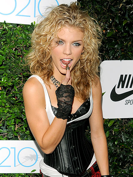 TONGUE-TIED photo | AnnaLynne McCord