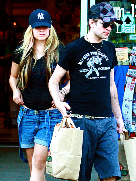 UNITED FRONT photo | Avril Lavigne, Derick Whibley, Deryck Whibley