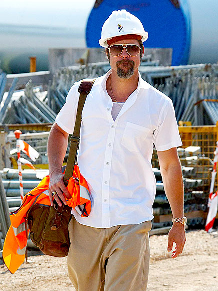 SAFETY FIRST photo | Brad Pitt