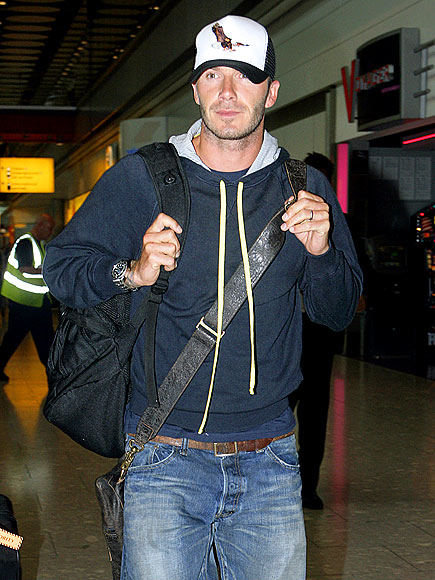 TRAVELING MAN photo | David Beckham