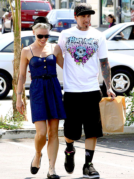 OUT TO LUNCH photo | Carey Hart, Pink