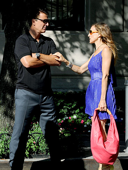A 'BIG' MOMENT photo | Chris Noth, Sarah Jessica Parker