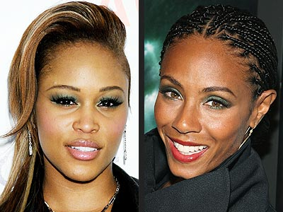 GREEN EYE SHADOW photo | Eve, Jada Pinkett Smith