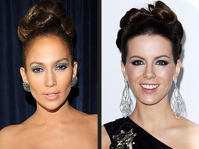BOUFFANT BUNS photo | Jennifer Lopez, Kate Beckinsale