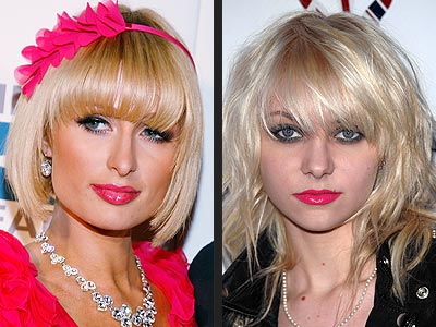 Paris Hilton Short layered bob hairstyles