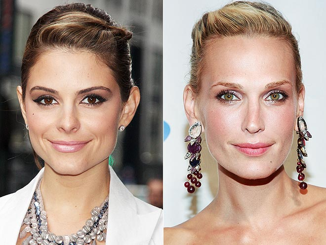 TWISTED UPDOS photo | Maria Menounos, Molly Sims