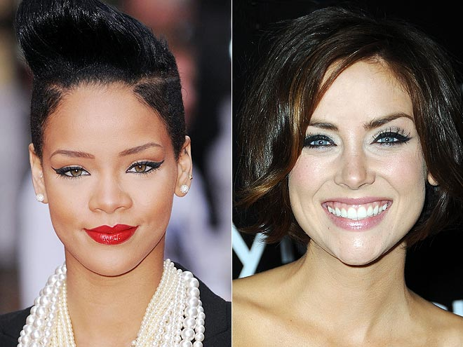 CAT EYES photo | Jessica Stroup, Rihanna