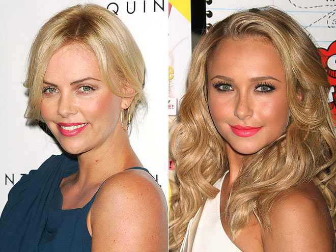 PINK POUT photo | Charlize Theron, Hayden Panettiere