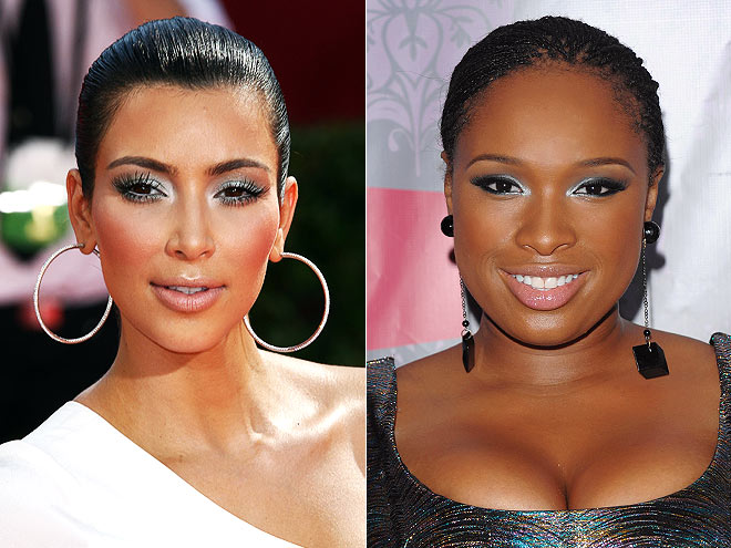 SILVER LIDS photo | Jennifer Hudson, Kim Kardashian