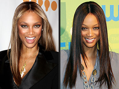 tyra banks hair colour. TYRA BANKS photo | Tyra Banks