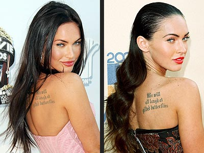 megan fox hair. MEGAN FOX photo | Megan Fox