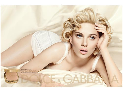 SNEAK PEEK: Scarlett Johansson for Dolce & Gabbana The Make Up