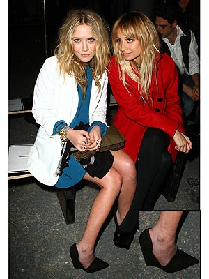 Mary-Kate Olsen Debuts Elizabeth and James Shoes -- On Her Feet
