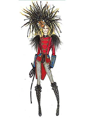 britney spears circus tour costumes. Britney Spears#39;s DSquared2