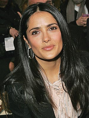 salma hayek. Salma Hayek Spills the Secret