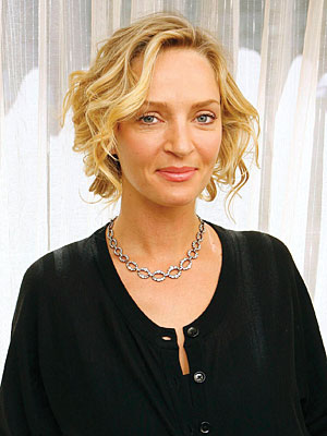 uma thurman hair. Uma Thurman#39;s New Role: The