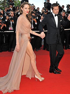 Angelina Jolie Gets Seriously Sexy at Cannes! - Style News – StyleWatch – People.com :  chic stars fashion cannes