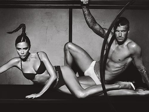 Tell us: What do you think of Posh and Becks's latest ads for Emporio Armani ...