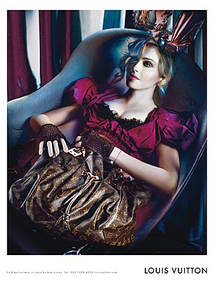 SNEAK PEEK: Madonna's Fall/Winter Louis Vuitton Ads - Style News – StyleWatch – People.com