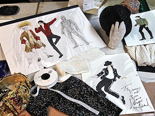 Mirada exclusiva: Último vestuario para Michael Jackson